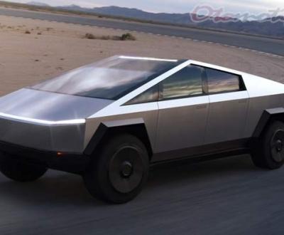 Gambar Tesla Cybertruck