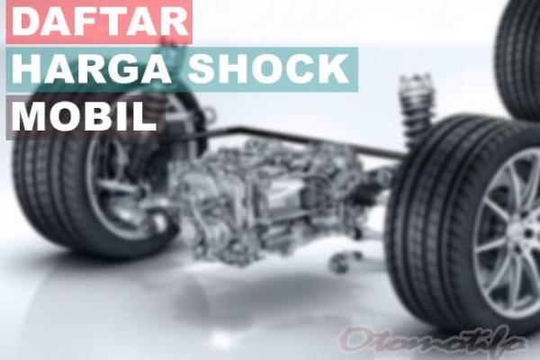 Komponen Shockbreaker Mobil