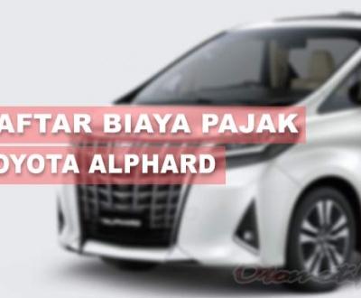 Pajak Toyota Alphard
