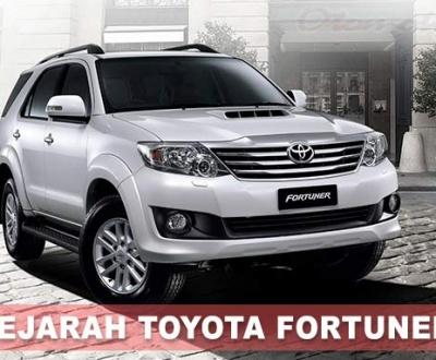 Sejarah Mobil Toyota Fortuner