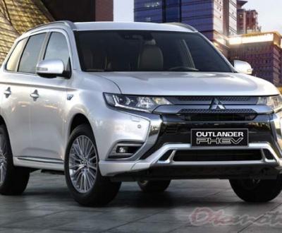 Spesifikasi dan Harga Mitsubishi Outlander Phev