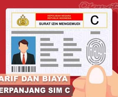 Tarif Perpanjang SIM C