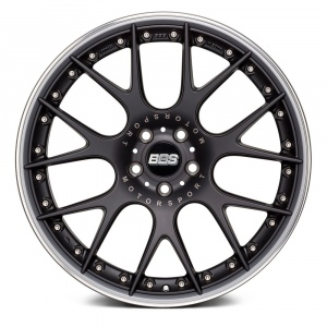 bbs-chr-ii-satin-black-polished-stainless-steel-lip-front CH-R11